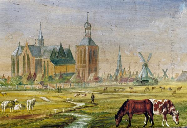 [HOLLAND.FRIESLAND 30212] 'Guild's bier of farmers in Workum.'