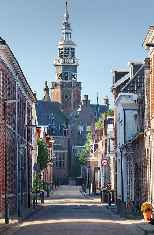 [HOLLAND.FRIESLAND 30229] 'Town hall of Bolsward.'