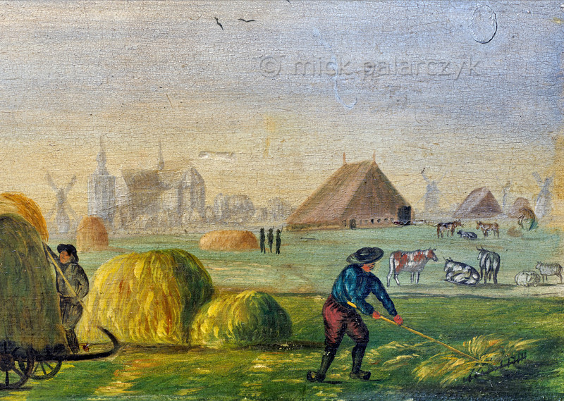 [HOLLAND.FRIESLAND 30217] 'Guild's bier of farmers in Workum.'