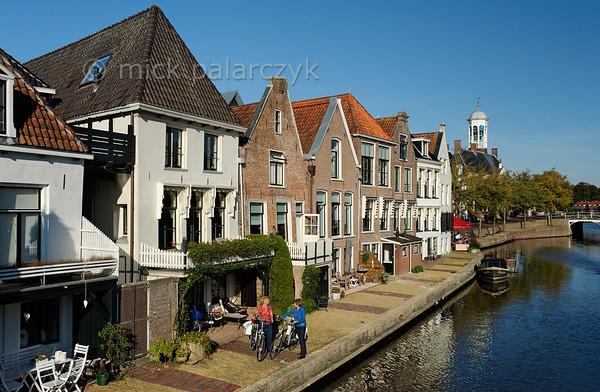 HOLLAND.FRIESLAND 30260] 'Het Grootdiep in Dokkum'.