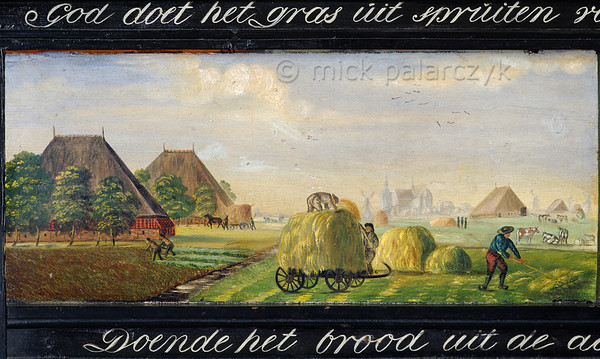 [HOLLAND.FRIESLAND 30215] 'Guild's bier of farmers in Workum.'