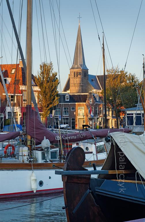 [HOLLAND.FRIESLAND 30240] 'Zuiderhaven in Harlingen.'