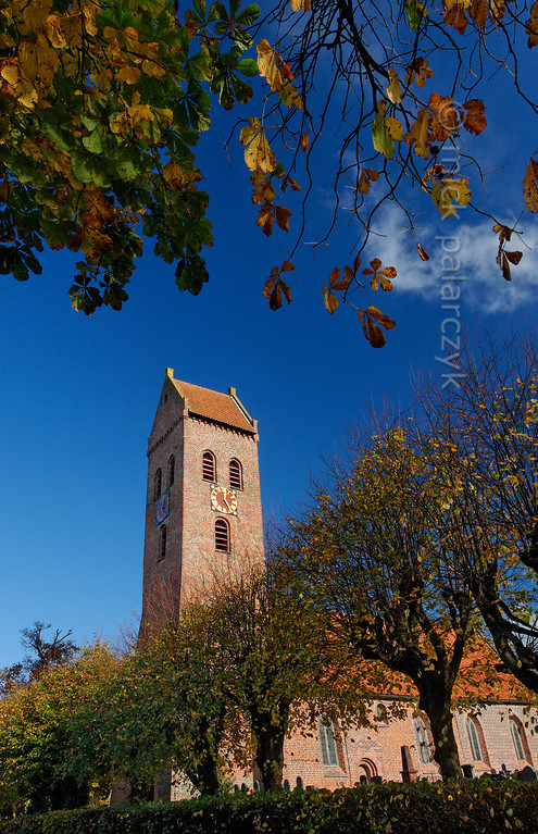 [HOLLAND.GRONINGEN 29491] 'Church in Midwolde.'  The church of the village of Midwolde dates to the second half of the 12th century. Photo Mick Palarczyk.