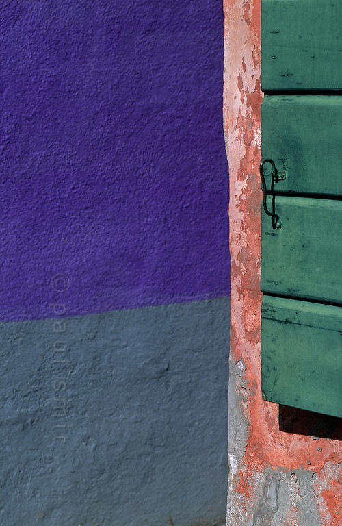 Colours of Burano.
