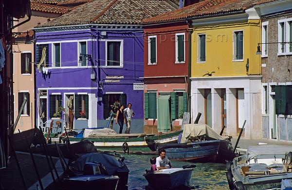 Colourful Burano.