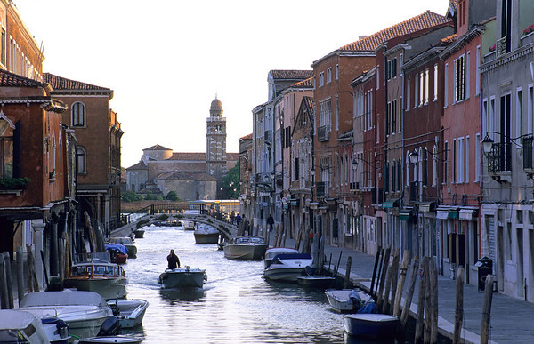 Canal in Murano.