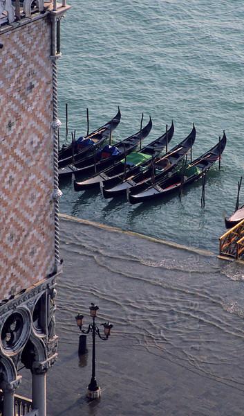 Flooded Venice.