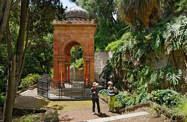 Moorish Kiosk in the Hanbury Gardens.