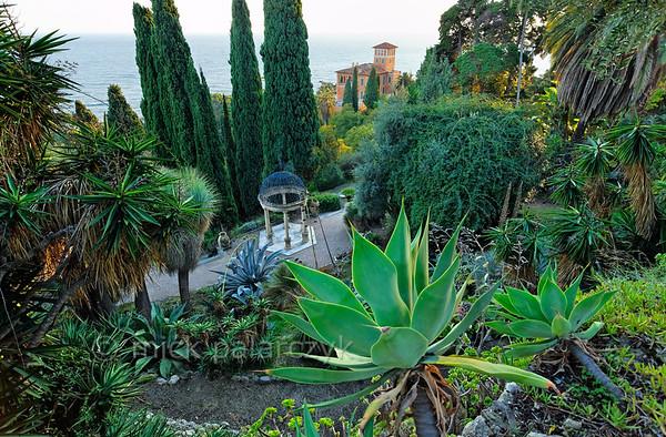 Hanbury Botanical Gardens.