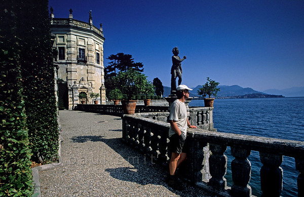[ITALY.PIEMONTE 01677]  'The gardens of Isola Bella.'  The 'beautiful island', main sight of the Lago Maggiore, is a man-made piece of art. Its garden has no double in the world. Photo Paul Smit.