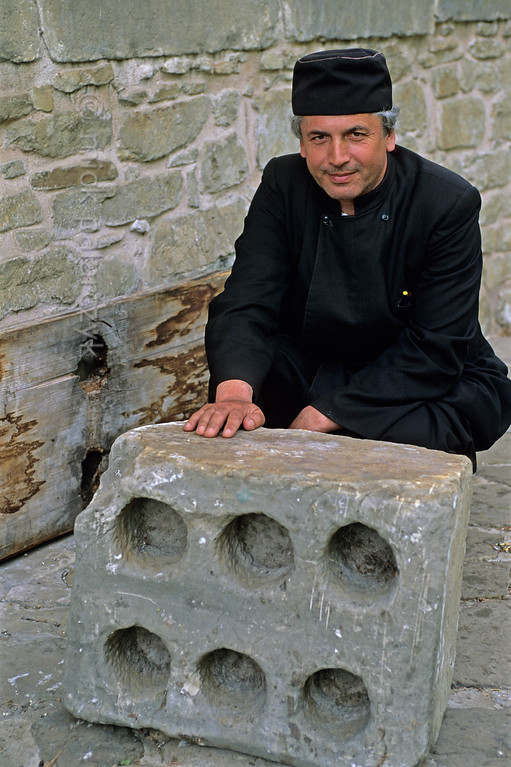 [ROMANIA.MOLDAVIA 24.039] 'Paint mixing slab.'