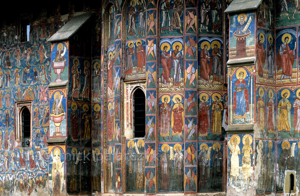 [ROMANIA.MOLDAVIA 23.954] 'Saintly parade.'