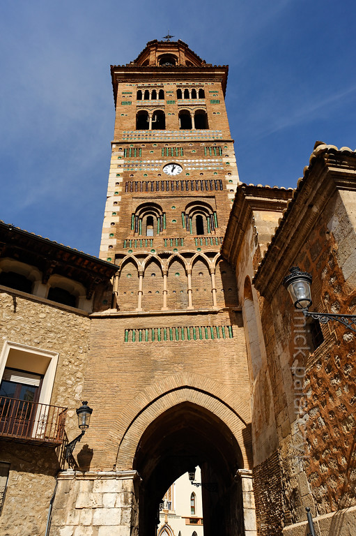 [SPAIN.ARAGON 28719] 'Tower of Teruel's cathedral.'