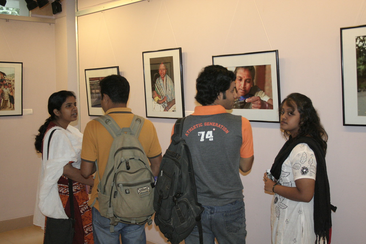 """Below the Poverty Line"" photography exhibition of Suchit Nanda's images held from 25th to 30th September, 2007 at the Drik Gallery, Dhaka. The exhibition was part of a series of activities carried out under UNESCO's Artist in Development Programme funded by the Norwegian Ministry of Foreign Affairs (Norwegian Embassy). Suchit is a majority world photographer and regularly contributes to  <a href=""http://www.majorityworld.com/"">http://www.majorityworld.com/</a>"
