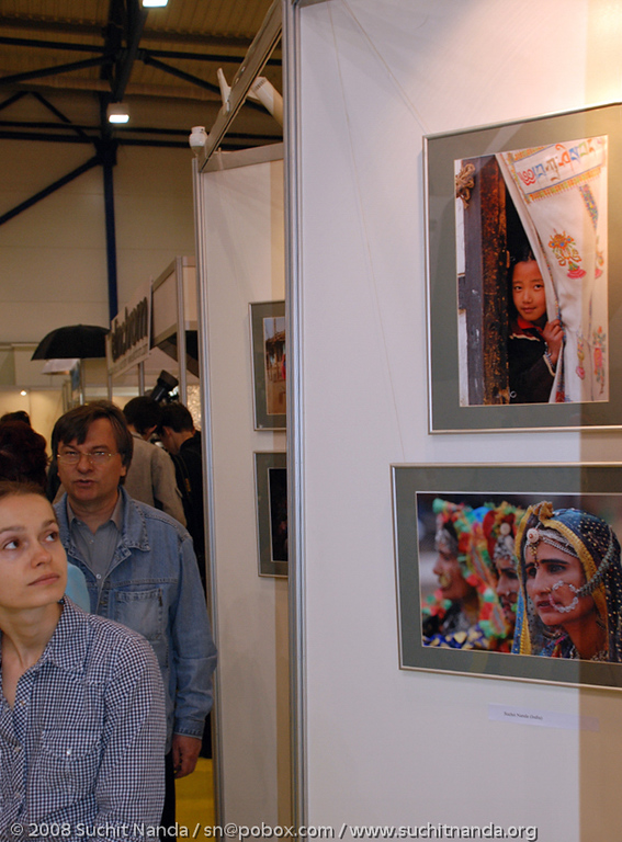 Suchit Nanda's picture exhibited at the 7th International PhotoFair Kyiv, whcih was held from 04 - 07 June 2009 in the International Exhibition Center (Kiev, Brovarsky ave, 15), Ukraine. About 30 to 40 thousand enthusiasts came to the show.
