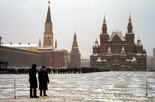 Queueing To See Lenin - 1st January 1976