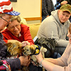 Canine competitors meet each other and residents at the Effingham Humane Society Dog Show and Lakeland Rehabilitation Clinic. More than 20 dogs competed for best dressed, best trick and best personality and were judged by residents.