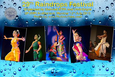 Raindrops Festival of Indian Classical Dance
