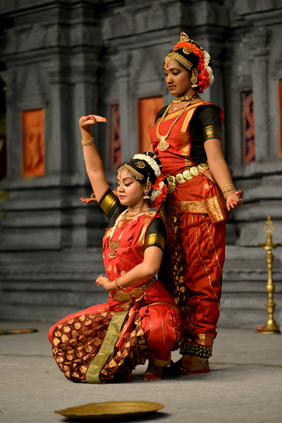 "Kuchupudi performance by Reddi T Lakshmi & Ranjini Nair, New Delhi. Guru : Jayarama Rao & Vanashree Rao.<br /> Performance at Chidambaram Natyanjali Dance Festival 2015 held at Chidambaram in February 2015. The festival is known for its serenity and uniqueness of the devotion of the dancers dedicating their ""Natya"" (Dance) as ""Anjali"" (Offering) and worship to the Lord of Dance - Lord Nataraja (Shiva)."