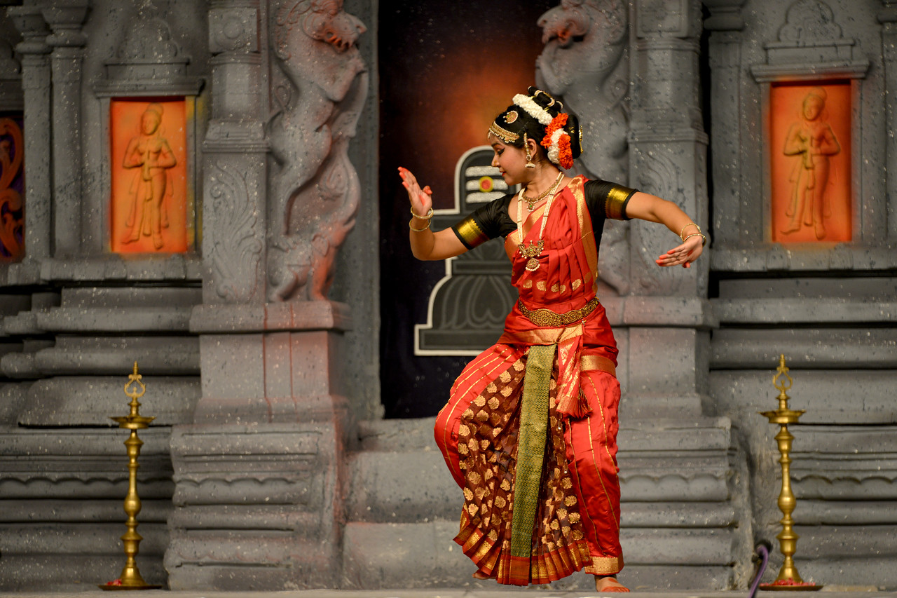 "Kuchupudi performance by Ranjini Nair, New Delhi. Guru : Jayarama Rao & Vanashree Rao.<br /> Performance at Chidambaram Natyanjali Dance Festival 2015 held at Chidambaram in February 2015. The festival is known for its serenity and uniqueness of the devotion of the dancers dedicating their ""Natya"" (Dance) as ""Anjali"" (Offering) and worship to the Lord of Dance - Lord Nataraja (Shiva)."