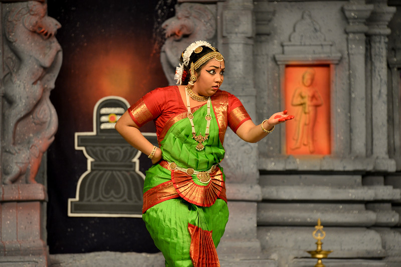 "Kuchupudi: K. Shanmugasundarm & Group, Chennai.<br /> Performance at Chidambaram Natyanjali Dance Festival 2015 held at Chidambaram in February 2015. The festival is known for its serenity and uniqueness of the devotion of the dancers dedicating their ""Natya"" (Dance) as ""Anjali"" (Offering) and worship to the Lord of Dance - Lord Nataraja (Shiva)."