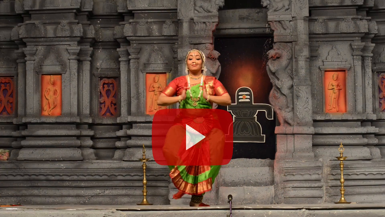 "Short video clip Kuchupudi: K. Shanmugasundarm & Group, Chennai.<br /> Performance at Chidambaram Natyanjali Dance Festival 2015 held at Chidambaram in February 2015. The festival is known for its serenity and uniqueness of the devotion of the dancers dedicating their ""Natya"" (Dance) as ""Anjali"" (Offering) and worship to the Lord of Dance - Lord Nataraja (Shiva)."