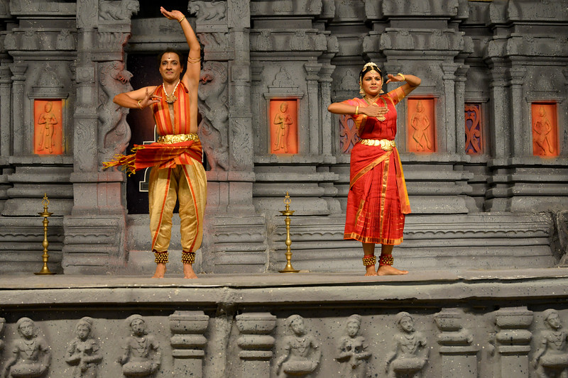 """Marabu"" by Parasha Group, Roja Kannan, Priya Murle, Srikanth, and Aswathi, Chennai.<br /> Performance at Chidambaram Natyanjali Dance Festival 2015 held at Chidambaram in February 2015. The festival is known for its serenity and uniqueness of the devotion of the dancers dedicating their ""Natya"" (Dance) as ""Anjali"" (Offering) and worship to the Lord of Dance - Lord Nataraja (Shiva)."