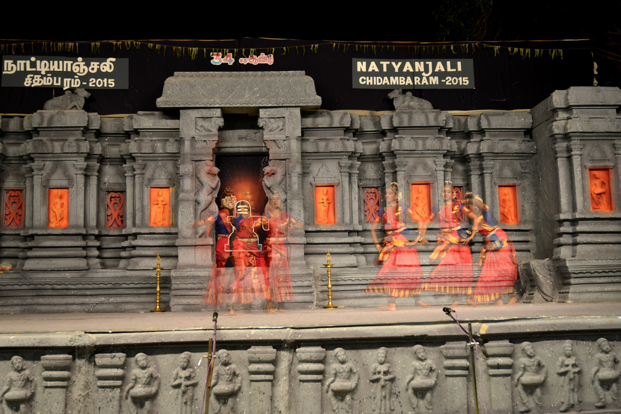 """Shivoham"" by Dr. Ranjani Ganesan Ramesh and Daksha Swaminathan, Mumbai. <br /> Performance at Chidambaram Natyanjali Dance Festival 2015 held at Chidambaram in February 2015. The festival is known for its serenity and uniqueness of the devotion of the dancers dedicating their ""Natya"" (Dance) as ""Anjali"" (Offering) and worship to the Lord of Dance - Lord Nataraja (Shiva)."