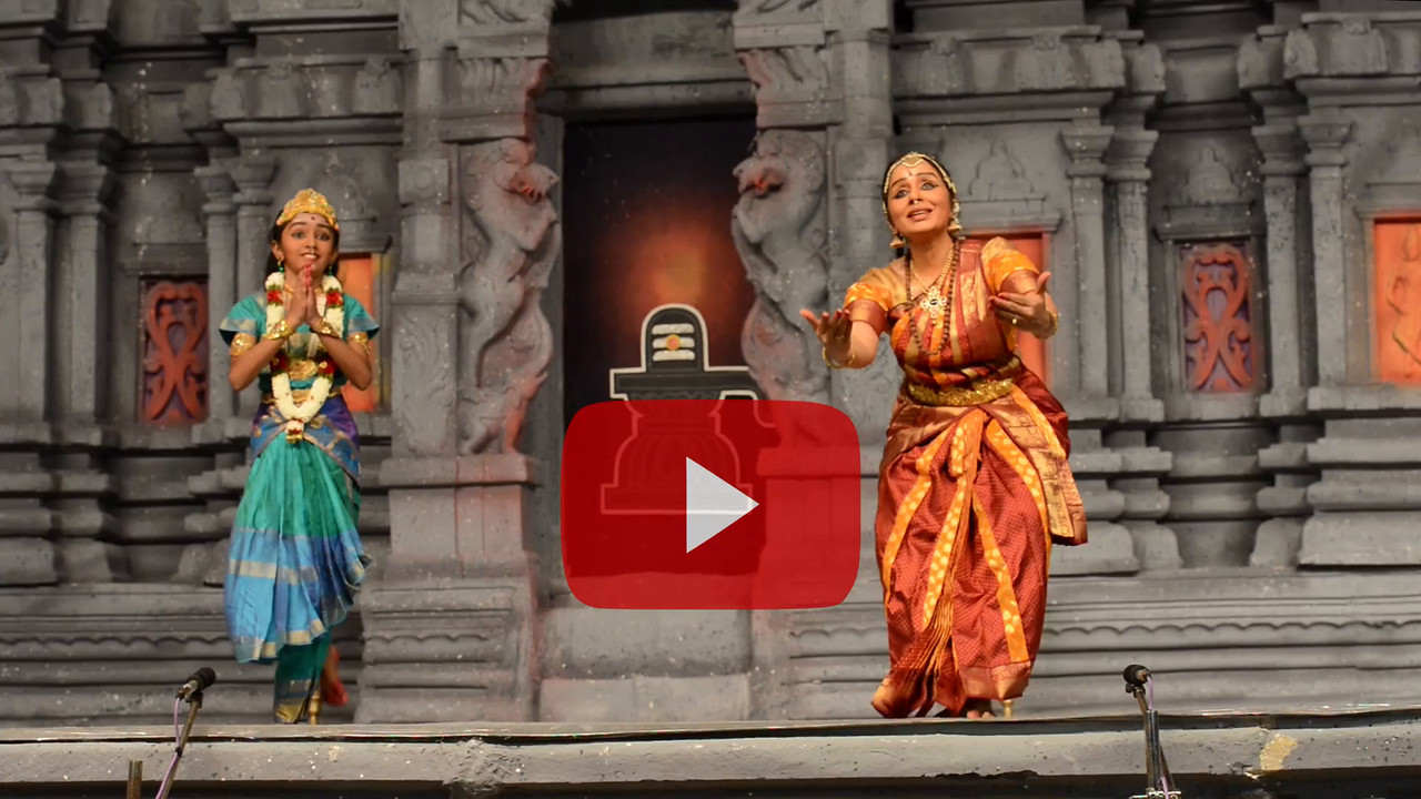 "Short video clip of Arupadai Veedu. Thejas School, Chennai. Guru: Srekala Bharath.<br /> Performance at Chidambaram Natyanjali Dance Festival 2015 held at Chidambaram in February 2015. The festival is known for its serenity and uniqueness of the devotion of the dancers dedicating their ""Natya"" (Dance) as ""Anjali"" (Offering) and worship to the Lord of Dance - Lord Nataraja (Shiva)."