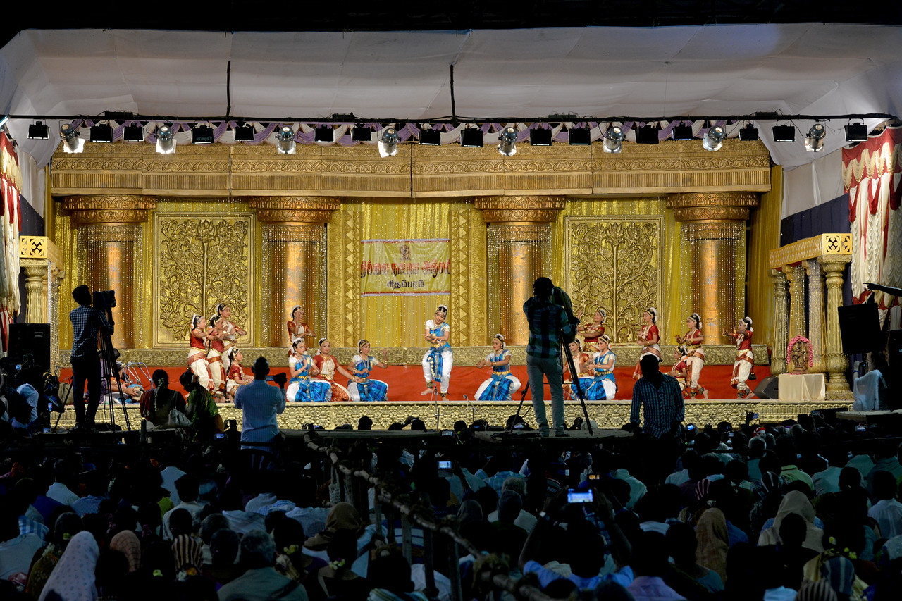 Chidambaram Temple Dance Festival 2015<br /> This year there were two parallel Dance Festivals. The Natyanjali Dance Festival in Chidambaram is a much anticipated and prestigious festival. The Deekshithars themselves held their own festival this year.