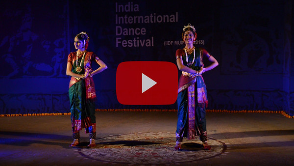 Short video clip of Dr Himabindu Kanoj, Muvva Dance Academy. 'Muvva' (meaning 'anklet-bell' in Telugu), Hyderabad.  INTERNATIONAL INDIA DANCE FESTIVAL (IIDF MUMBAI 2018) 3rd March 2018. Organized by Aratrika Institute of Performing Arts and Samskritiki for its first season in Mumbai. Classical dance styles, folk, contemporary and fusion were performed over three days of the festival (2nd, 3rd and 4th March 2018).