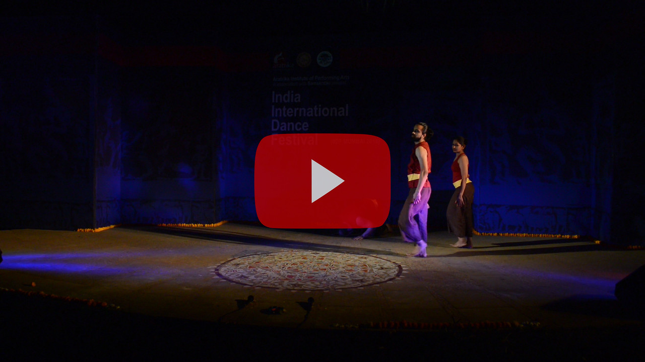 Short video clip of Abhishek Rathod (Contemporary Group).<br /> <br /> INTERNATIONAL INDIA DANCE FESTIVAL (IIDF MUMBAI 2018) 3rd March 2018. Organized by Aratrika Institute of Performing Arts and Samskritiki for its first season in Mumbai. Classical dance styles, folk, contemporary and fusion were performed over three days of the festival (2nd, 3rd and 4th March 2018).