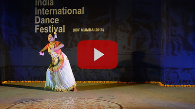 Short video clip of Ayswaria Wariar (Aishwarya Warrier) Mohiniyattam Exponent, Researcher & Choreographer. Kerala State Govt Awardee and  IIDF Awardee.  INTERNATIONAL INDIA DANCE FESTIVAL (IIDF MUMBAI 2018) 4th March 2018. Organized by Aratrika Institute of Performing Arts and Samskritiki for its first season in Mumbai. Classical dance styles, folk, contemporary and fusion were performed over three days of the festival (2nd, 3rd and 4th March 2018).