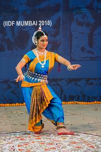 Smt Swapnokolpa Dasgupta (Roychowdhury), disciple of legendary Guru Kelucharan Mahapatra and Guru Poushali Mukherjee, is a proficient dancer in Odissi style of Indian classical dance.  INTERNATIONAL INDIA DANCE FESTIVAL (IIDF MUMBAI 2018) 4th March 2018. Organized by Aratrika Institute of Performing Arts and Samskritiki for its first season in Mumbai.