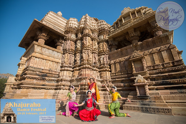 Khajuraho Dance Festival (Temple) 22-23 Feb 2017