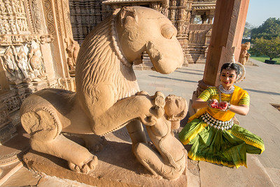 Dhruvi Saachi Jaiin of Kaishiki, which was started by Odissi dance Guru Smt Daksha Mashruwala. Khajuraho Dance Festival, Feb 2017. Colorful and brilliant classical dance forms of India with roots in the rich cultural traditions offer a feast for the eyes during a weeklong extravaganza. Khajuraho Temples in Madhya Pradesh are popular for their architectural wonders and sculptures.
