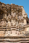 Khajuraho Vamana temple is a Hindu temple dedicated to Vamana, an avatar of the god Vishnu. The temple was built between assignable to circa 1050-75. It forms part of the Khajuraho Eastern G ...