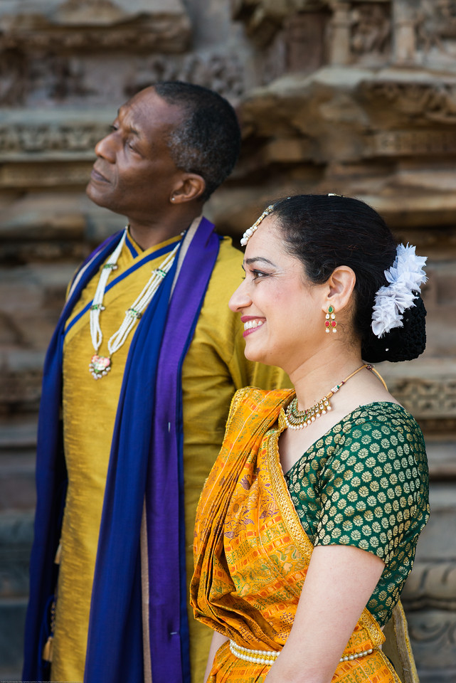 Mukta Sathe, and Derek Phillips of Rita Mitra Mustaphi, Katha Dance Theater, USA. While adept in the classical Kathak vocabulary it is infused with contemporary sensibility acquired from interest in expression, rhythm works and movement idioms.<br /> Khajuraho Dance Festival, Feb 2017. Colorful and brilliant classical dance forms of India with roots in the rich cultural traditions offer a feast for the eyes during a weeklong extravaganza. Khajuraho Temples in Madhya Pradesh are popular for their architectural wonders and sculptures.