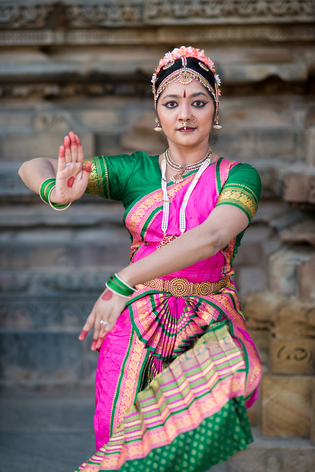 Rashmi Joshi, Pune.<br /> Khajuraho Dance Festival, Feb 2017. Colorful and brilliant classical dance forms of India with roots in the rich cultural traditions offer a feast for the eyes during a weeklong extravaganza. Khajuraho Temples in Madhya Pradesh are popular for their architectural wonders and sculptures.