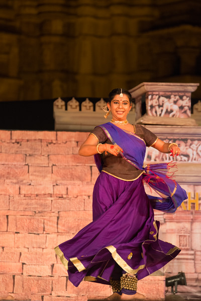 Jayashree Acharya was formally trained in Kathak dance by Shri Sant Gopal Mishra in Ayodhya and has studied under Guru Smt Reba Vidyarthi and legendary Master Padmavibhushan Pandit Birju Maharaj. Jayashree has taught and performed Kathak in London as well as in various cities and venues across Europe for over the 10 years and in 2004 and set up her school in Gurgaon.<br /> <br /> Khajuraho Dance Festival 20th Feb'17. Colorful and brilliant classical dance forms of India with roots in the rich cultural traditions offer a feast for the eyes during a weeklong extravaganza. Khajuraho Temples in Madhya Pradesh are popular for their architectural wonders and sculptures.