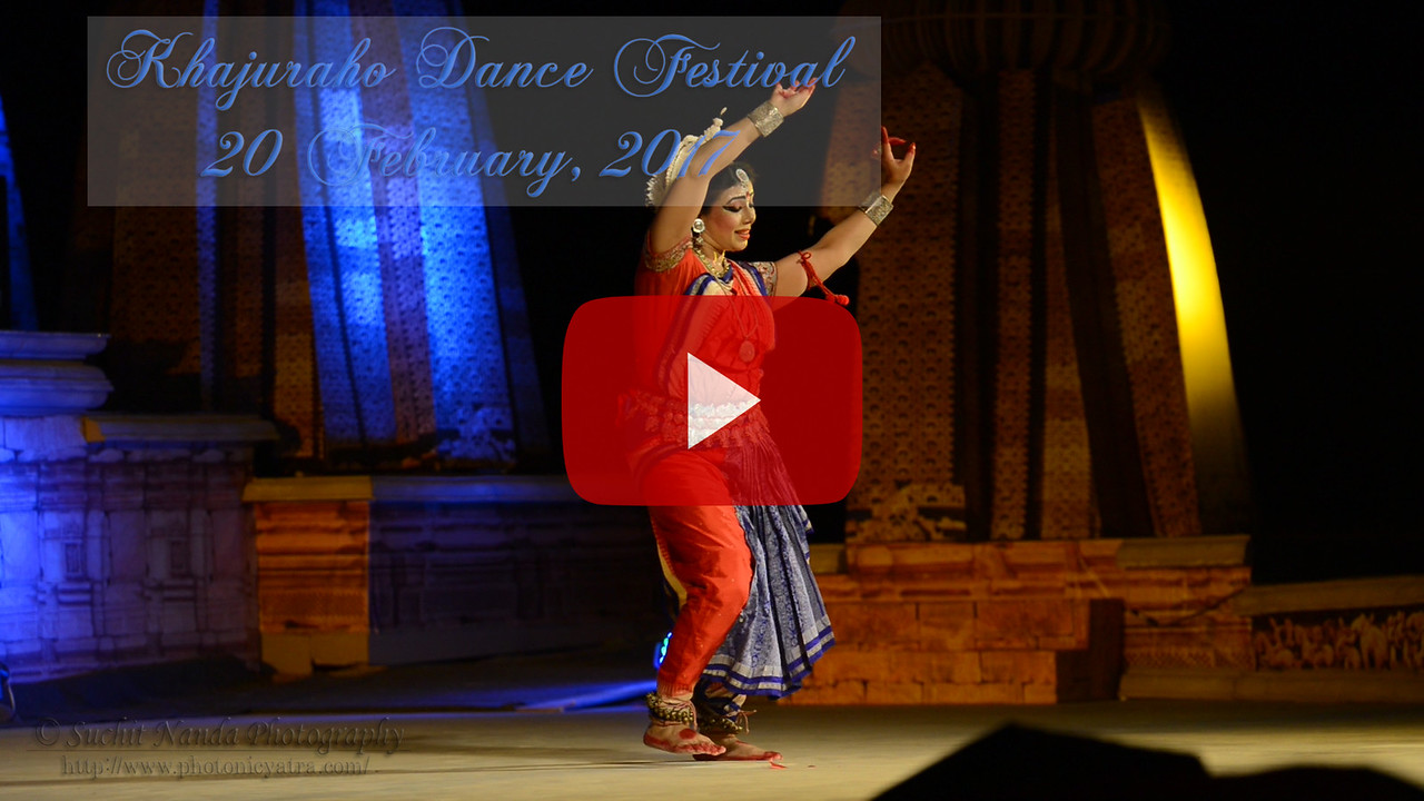 Khajuraho Dance Festival 20th Feb'17