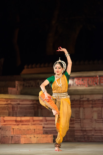 Shagun Butani is a leading exponent of Odissi and Seraikella Chhau. She has trained in Odissi under masters like Smt. Aloka Panikar and the late Guru Gangadhar Pradhan and in Seraikella Chhau from the late Guru Lingaraj Acharya and Guru Shashadhar Acharya. <br /> <br /> Khajuraho Dance Festival 21st Feb'17. Colorful and brilliant classical dance forms of India with roots in the rich cultural traditions offer a feast for the eyes during a weeklong extravaganza. Khajuraho Temples in Madhya Pradesh are popular for their architectural wonders and sculptures.