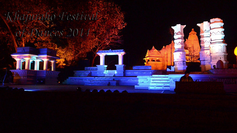 Short video of Vishal Krishna's dance. Khajuraho Festival of Dances celebrates the most colorful and brilliant classical dance forms of India.