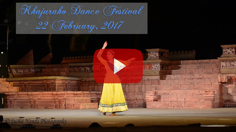 Khajuraho Dance Festival 22th Feb'17 (Day 3)