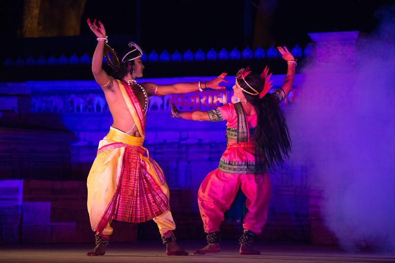 Mayurbhanj Chhau dance by Shri Sadashiva Pradhan from Bhubaneswar, Odisha, India.<br /> <br /> Khajuraho Dance Festival 22nd Feb'17.
