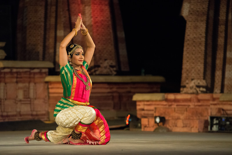"Lavanya Sankar is a Bharatanatyam dancer. She started at the tender age of four when she came under the tutelage of the noted Guru Kalaimamani Smt. K.J. Sarasa of Sarasalaya. She had her Arangetram at the age of seven, and since then, has given more than a thousand performances at all leading Sabhas and Festivals all over India and abroad. Her talent has been recognized in the form of several awards and titles, the most noted being ""Ustad Bismillah Khan Yuva Puraskar"" from Sangeet Natak Akademi, ""Nadanamamani"" from Karthik Fine Arts and ""Yuva Kala Bharathi"" from Bharat Kalachar. Lavanya imparts training in Bharathanatyam at her Academy of Classical Dance, Abhyasa, and also through lecture-demonstrations and presentations at various forums. She is also an accomplished nattuvangam artiste, an imaginative choreographer of Bharathanatyam ballets and productions, and has been a television hostess for a leading Tamil TV network.<br /> <br /> Khajuraho Dance Festival 22nd Feb'17. Colorful and brilliant classical dance forms of India with roots in the rich cultural traditions offer a feast for the eyes during a weeklong extravaganza. Khajuraho Temples in Madhya Pradesh are popular for their architectural wonders and sculptures."
