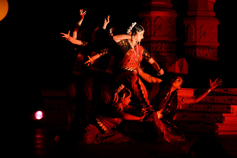 "Shakti & Shiva. Vaibhav Arekar & Troupe, Bharatnatyam Group at the Khajuraho Festival of Dances.  This festival is celebrated at a time when the hardness of winter begins to fade and the king of all seasons, spring, takes over. The most colorful and brilliant classical dance forms of india with their roots in the ling and rich cultural traditions across the country, offer a feast for the eyes during a weeklong extravaganza.  Khajuraho is located in the Indian state of Madhya Pradesh and roughly 620 kilometers (385 miles) southeast of New Delhi, the temples of Khajuraho are famous for their so-called ""erotic sculptures"". Khajuraho was the cultural capital of the Chandela Rajputs, a Hindu dynasty that ruled from the 10th to 12th centuries."