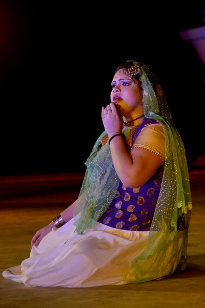 "Ranjani Bhattacharjee. Ashimbandhu Bhattacharya & Troupe's Kathak dance performance at the Khajuraho Festival of Dances.  This festival is celebrated at a time when the hardness of winter begins to fade and the king of all seasons, spring, takes over. The most colorful and brilliant classical dance forms of india with their roots in the ling and rich cultural traditions across the country, offer a feast for the eyes during a weeklong extravaganza.  Khajuraho is located in the Indian state of Madhya Pradesh and roughly 620 kilometers (385 miles) southeast of New Delhi, the temples of Khajuraho are famous for their so-called ""erotic sculptures"". Khajuraho was the cultural capital of the Chandela Rajputs, a Hindu dynasty that ruled from the 10th to 12th centuries."