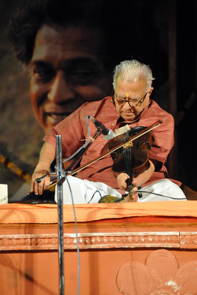 "Carnatic Violine Recital by Padma Bhusan (Prof) T.N. Krishnan enthralled connoisseurs of Indian classical music and dance on the second day of the annual Konark Dance and Music Festival.<br /> <br /> The Konark Dance & Music Festival 2011 held from February, 19th to 23rd, organized by Konark Natya Mandap. The festival takes place in an open-air auditorium and enlivens the spirit of the sculptures of Konark temple which is just a short distance away.<br /> <br /> The objectives of the Konark Natya Mandap are to preserve, promote, and project the rich cultural heritage of Orissa and to infuse cultural awareness in the minds of all. Started with painstaking efforts of internationally renowned Odissi dance teacher Guru Gangadhar Pradhan who unfortunately passed away last year. For more details on the festival see  <a href=""http://www.konarknatyamandap.org/"">http://www.konarknatyamandap.org/</a>"