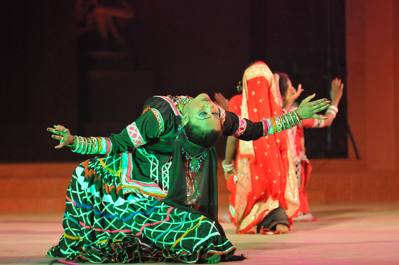 """Rajsthani women perform Kalbelia, the sensuous folk dance of the snake charmers' community of Rajasthan. Performance by Rajsthani Folk Dance Group, Rajsthan<br /> <br /> The Konark Dance & Music Festival 2011 held from February, 19th to 23rd, organized by Konark Natya Mandap. The festival takes place in an open-air auditorium and enlivens the spirit of the sculptures of Konark temple which is just a short distance away.<br /> <br /> The objectives of the Konark Natya Mandap are to preserve, promote, and project the rich cultural heritage of Orissa and to infuse cultural awareness in the minds of all. Started with painstaking efforts of internationally renowned Odissi dance teacher Guru Gangadhar Pradhan who unfortunately passed away last year. For more details on the festival see  <a href=""""http://www.konarknatyamandap.org/"""">http://www.konarknatyamandap.org/</a>"""